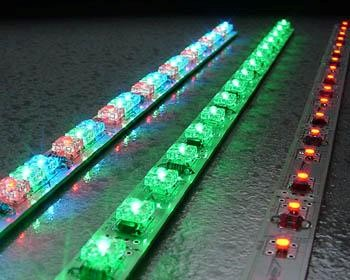 LED Strip niet flexibel