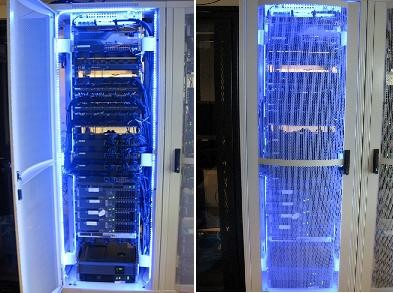 LED Stripset Server Rack