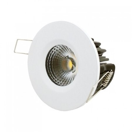 LED inbouwspot | 1 LED | Rond | 8W | Warm Wit | LWIESNA20028WW