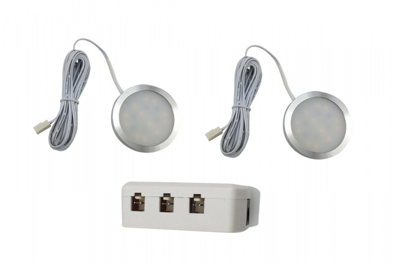 LED Kastverlichting set | 2 Lampjes | 2 x 3W | LWLS0847-2