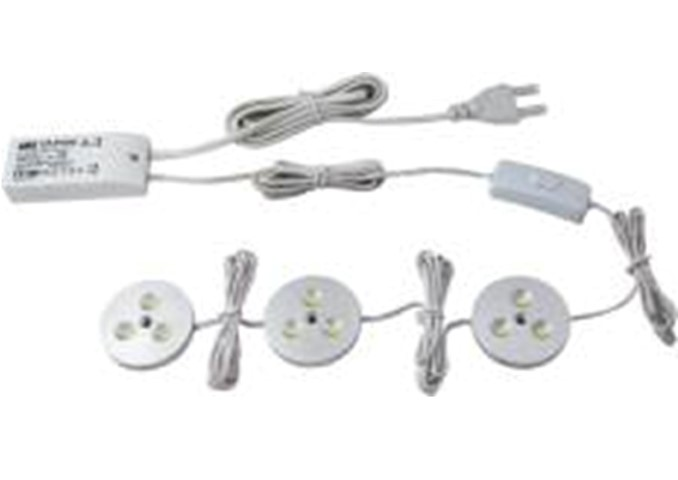 LED Kastverlichting set | 3 Lampjes | 3 x 3W