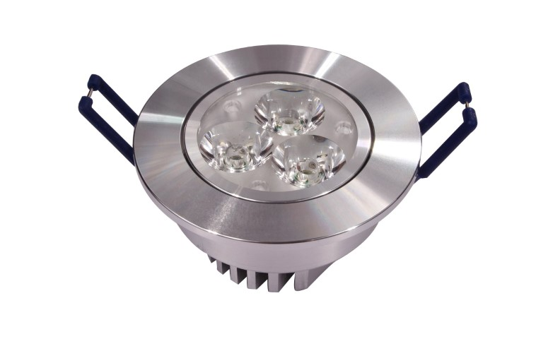 LED inbouwspot | 3 LED | Rond | 3 x 3W | 700mA | Warm Wit | LW683X3004HGS