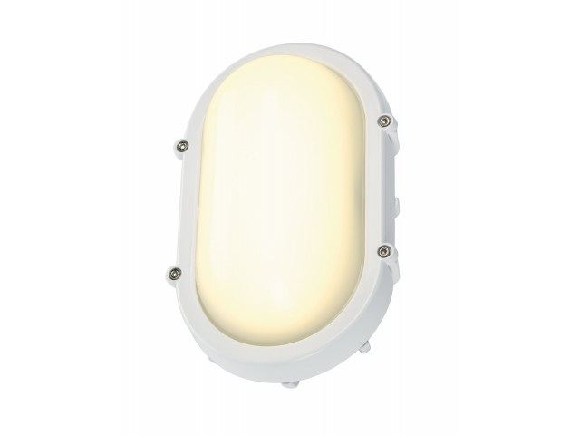 LED Gevellamp | 230V | 8W | Warm Wit | TERANG Wit