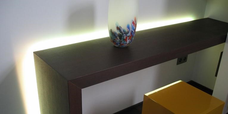 LED strip standaard