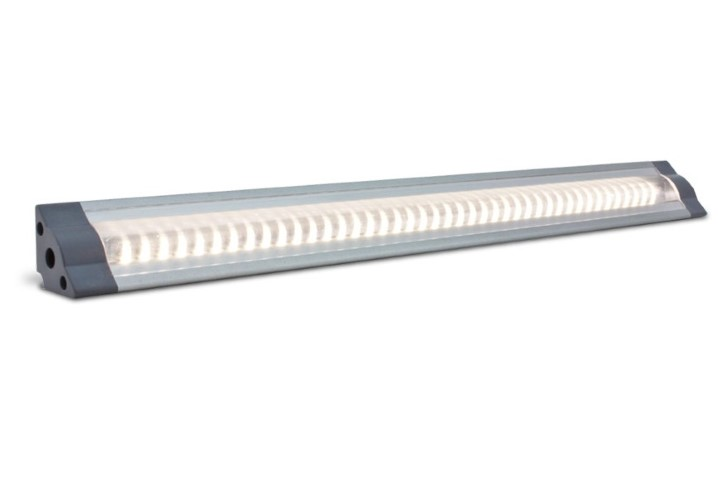 LED Strip | Plat | Type Corner LO | 100cm | Warm Wit | 11W | 24V