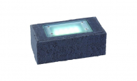 Garden Lights - Uplight Exillis Stein Anthrazit (6000K | 2 W | 50lm | 12V | 200x100x75mm)
