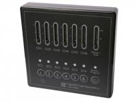LED Controller | 220V | Fader Panel DMX II, wall mount, 6 channel