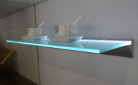 LED Profiel IIII | Glass | 45 x 13mm | 1M | Glas / PVC 6m