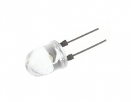 LED 7mm Dip Clear | Wit