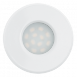 Eglo | LED inbouwspot | 1 LED Spot | 5W | Warm Wit | Wit | 400Lm