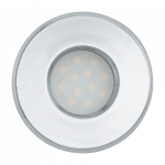Eglo | LED inbouwspot | 1 LED Spot | 5W | Warm Wit | Chroom | 400Lm
