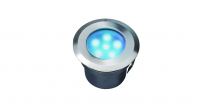 Garden Lights - Groundlight Sirius (Blue | 1W | 10lm | 12V | 52x70mm)