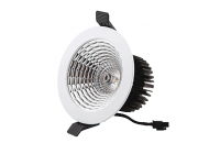 Interlight | Camita | LED inbouwspot | 1 LED spots | 1044Lm | 17W