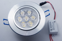 BudgetLine | LED inbouwspot | 1 LED spots | 560Lm | Doe Het Zelf LED Kit | Warm Wit | Ron