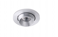 LED inbouwspot | 1 LED | Rond | 3W | 700mA | Warm Wit