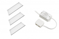 LED Module | Type THIN SET | 200 x 100 x 5mm | Warm Wit | 3 x 6W | 12V | 360 Lume