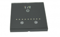 Wall RGB LED Controller | RGBw@re | 3 x 48W | 12-24V | Wallpanel 01