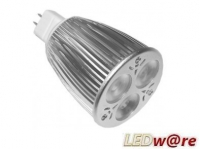 LED Spot (USA) | 12V | 6W | VV 50W | Wit 3800k | MR1