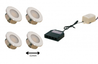 LED inbouwspot | 3 LED spots | 100Lm | Doe Het Zelf LED Kit | Warm Wit | DP05