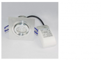 LED inbouwspot | 1 LED | Rond | 10W | Warm Wit | LWD5008DIM8881
