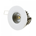 LED inbouwspot | 1 LED | Rond | 10W | Warm Wit | LWIESNA200210WW