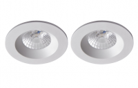 Robus | RC8WDLDWW-01 | LED inbouwspot | 2 LED spots | 575Lm | 2 x 8W | Wit