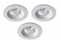 Robus | RC8WDLDWW-01 | LED inbouwspot | 3 LED spots | 575Lm | 3 x 8W | Wit