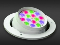 LED Powerbar | 24V | 18W | 15 gekleurde LEDs | Variabel