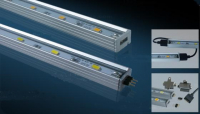 Alu strip | 12V | 9W | 15 LEDs | Warm Wit | 0,5 M