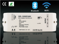 Wifi | RGBW LED Controller | 4 x 60 / 120W | 12-24V | met software | RF