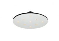 LED opbouwspot | 9 LED Spots | 1921Lm | LED Square | Warm Wit | LWLBL083.WW