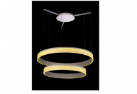 LED Hanglamp | 87.5 x 15.5 x 87.5 | Disc two 87