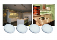 LED Kastverlichting set | 4 Lampjes | 4 x 1,5W | R