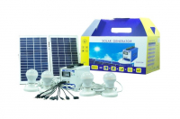 Solarw@re | 4 x 3W LED Lampen + 2 x 10W Zonnepaneel + Ba
