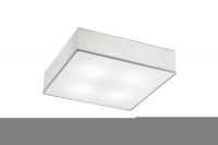TRIO Plafonniere / wandlamp | 4 x 6W | 500 x 500mm | LED EMBASSY | Wit