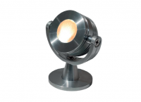 Tronix | LED opbouwspot | 1 LED | Mars | 3W | 700mA | Warm Wit | Alu