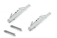 LED Powerbarset | 24V + 220V voeding | 2 x 30W | 30 LED | Master / Sl