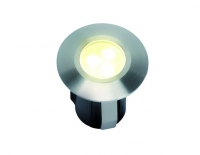 LED Grondspot | 12V | Vierkant | 0,5W | Warm Wit | Alpha