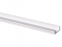 LED Profiel 25 | Standard | 17,5 x 7.5mm | Opaal, PC, UV Bestendig | 10 x 2M