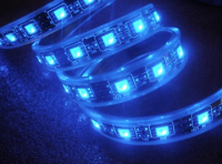 Custom SMD LEDstrip | 3,4M | Kabel 4M | Blauw 5050 LED IP68