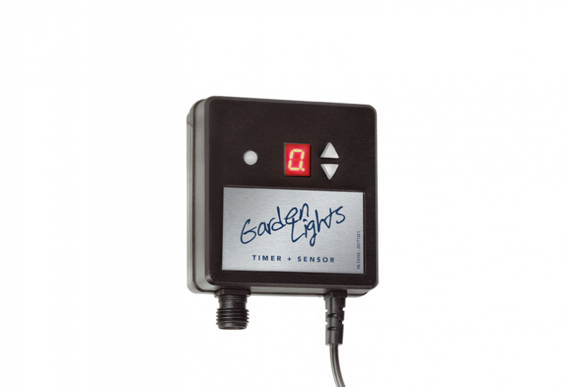 Garden Lights - 12 Volt Timer + schemer sensor | 150 Watt